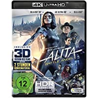 Alita - Battle Angel  (4K Ultra HD) (+ Blu-ray 3D) (+ Blu-ray 2D) [Alemania] [Blu-ray]