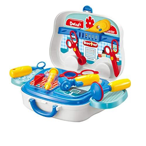 Pretend kinderen simulatie spel schaar medische benodigdheden kit voor kinderen plastic speelgoed Set Verjaardagscadeau