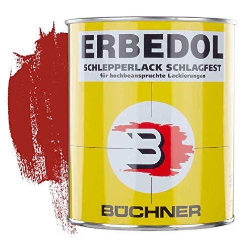 Schlepperlack | KARMINROT | RAL 3002 | 0,75 l | restaurieren | Traktor | lackieren | Farbe | Trecker | Frontlader | Lack | Lackierung | Farbton | schnelltrocknend | deckend
