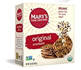 Mary's Gone Crackers Original Crackers, Organic Brown Rice, Flax & Sesame Seeds, Gluten Free, 6.5...