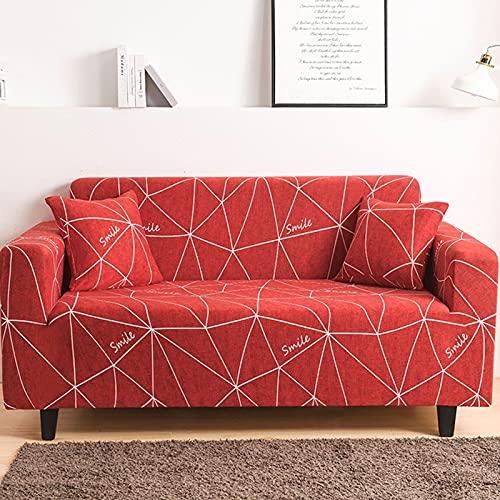 Fundas de sofá de 1/2/3/4 plazas, funda súper elástica para sofá, funda suave duradera a prueba de polvo, funda para sofá para sala de estar, Protector de muebles N,4 Seater