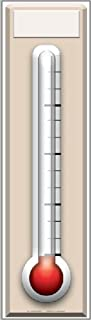 Fundraising Thermometer Lifesize Standup Cardboard Cutouts 72 x 20in