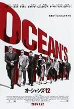 Ocean's Twelve Poster Movie Japanese 27x40