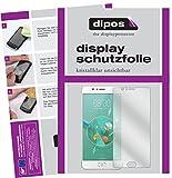 dipos I 2X Schutzfolie klar kompatibel mit ZTE Nubia M2 Folie Bildschirmschutzfolie
