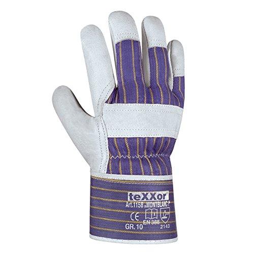 """120 Paar - Rindvollleder-Handschuhe, """"MONTBLANC-I"""" - teXXor® - 1158 - Größe 10"""