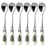 Spode Christmas Tree Tea Spoon, Set of 6