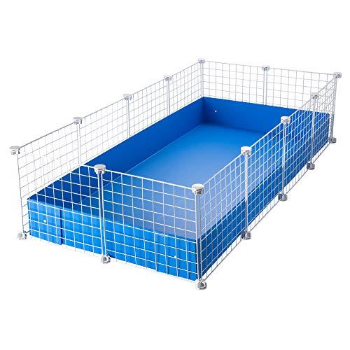CagesCubes - Jaula CyC Grande (2X4 Paneles en Blanco) + Base de...