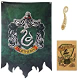 Harry Potter Banner - Gryffindor Slytherin Hufflepuff Ravenclaw House Flags Collection...