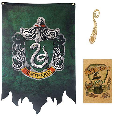 birthday decor for harry flag potter Wand Banner, gryffindor | hufflepuff | ravenclaw | slytherin Haus-Dekor-Flagge (72X120CM)