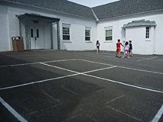 Best four square playground stencil Reviews