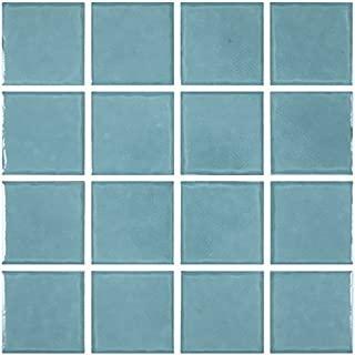 Best aqua blue pool tile Reviews