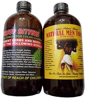 Soursop Bitters Organic Natural Men Tonic 16 oz Pack of 2 product image