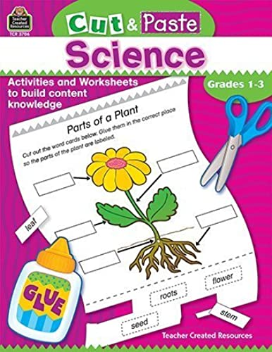 Garantía 100% de ajuste Cut & & & Paste  Science by Teacher Created Resources  entrega de rayos