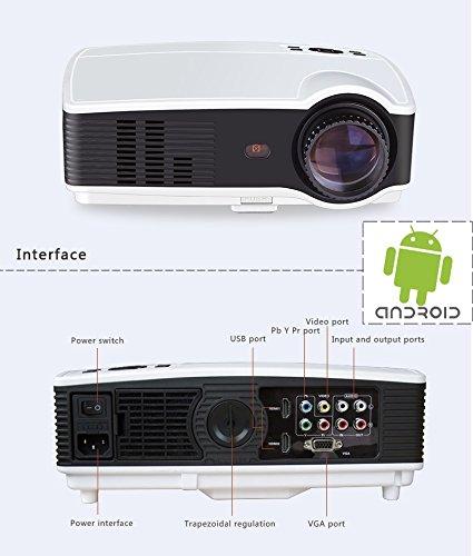 Proyector Full HD, SEELUMEN Proyectores 3200 Lumens (WIFI,Android ...