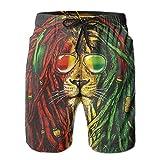 Pantalon de Maillot de Bain Beach Swim Trunks pour Hommes,...