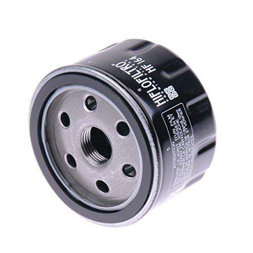 Ölfilter Hiflo HF164 Schwarz