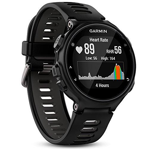 Garmin Forerunner 735XT GPS Avanzato Cardio da Polso Nero Grigio (Ricondizionato)