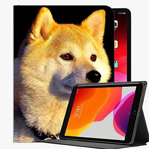 para iPad Mini 1 2 3 Case (Modelo Antiguo A1432 A1490 1455), Collar de Perro Ojos Hermosa Caja Delgada Cubierta de cáscara para iPad iPad Mini 7,9 Pulgadas