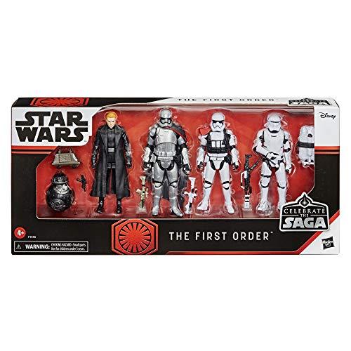 Star Wars Celebrate The Saga Spielzeuge Erste Ordnung Figuren Set, 9,5 cm große Action-Figuren zum Sammeln 6er-Pack, für Kids ab 4 Jahren