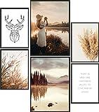 Papierschmiede Poster Set Herbst | 6 Bilder als stilvolle