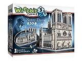 Wrebbit 3D Puzzle Rompecabezas 3D Notre_Dame