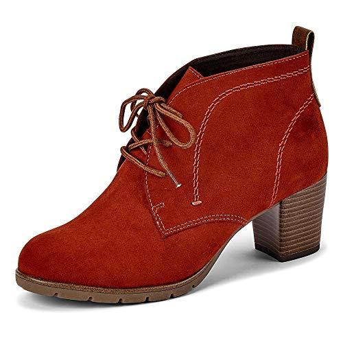 MARCO TOZZI Damen 2-2-25107-35 Stiefelette, Brick Comb, 40 EU