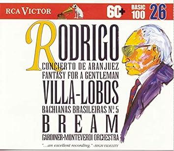 Rodrigo/Villa-Lobos: Concierto de Aranjuez