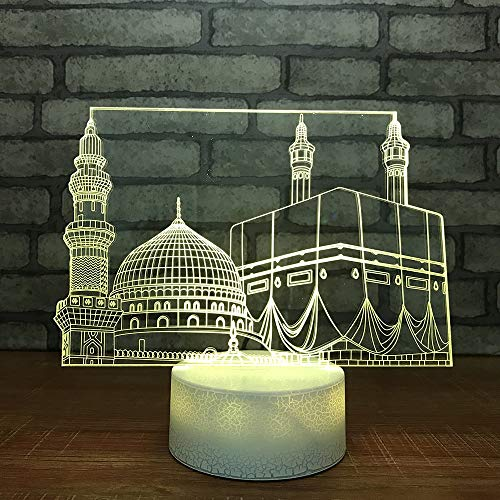 Lampada da tavolo a LED per cameretta a LED per cameretta da notte a forma di comodino