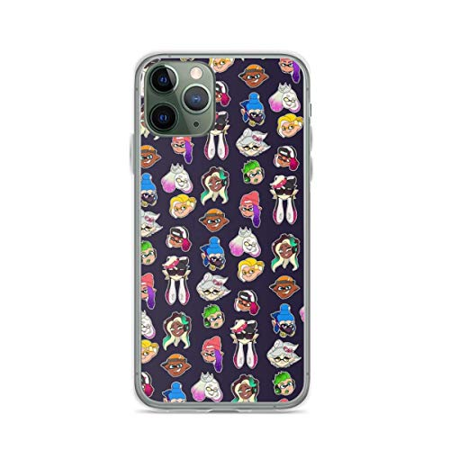 Phone Case Splatoon 2 Compatible with iPhone 6 6s 7 8 X XS XR 11 Pro Max SE 2020 Samsung Galaxy Waterproof Funny Shock