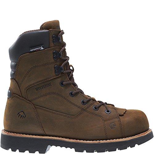 WOLVERINE Men's Blacktail Insulated Waterproof-M Hunting Boot, Brown, 13 M US
