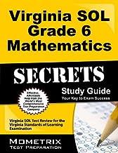 By Virginia SOL Exam Secrets Test Prep Team Virginia SOL Grade 6 Mathematics Secrets Study Guide: Virginia SOL Test Review for the Virginia Stan [Paperback]
