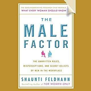 The Male Factor audiobook cover art