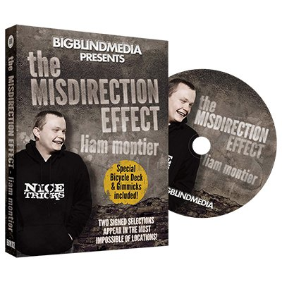 The Misdirection Effect (DVD and Gimmick) by Liam Montier and Big Blind Media - DVD