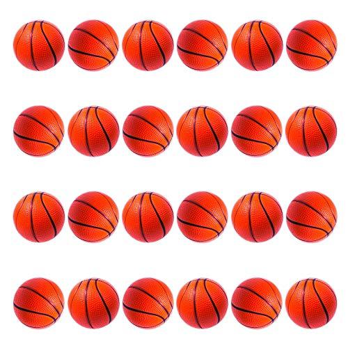 Windy City Novelties Mini Foam Basketball Stress Balls (24 Pack)
