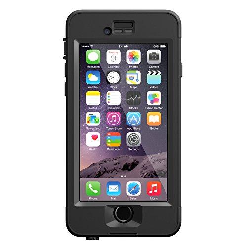 """LifeProof NÜÜD iPhone 6 ONLY Waterproof Case (4.7"""" Version) - Retail Packaging - BLACK"""