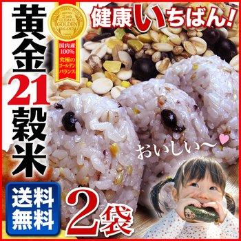 ホロニックフーズ 健康いちばん 黄金21穀米250g×2袋 高品質純国産100%