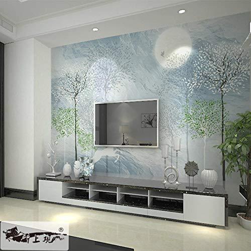 Fototapete_3d wallpaper neue chinesische tapete einfache moderne tv wohnzimmer schlafzimmer benutzerdefinierte 3d fototapete wohnzimmer schlafzimmer Wandbild Tapete Fototapete Wandbilder-400cm×280cm