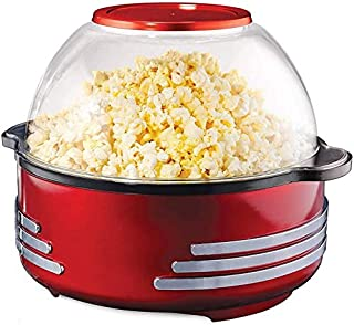 Machine pop-corn du fabricant de pop-corn à air chaud 1000W pop-corn en remuant sans gras Popper, surface de chauffage ant...