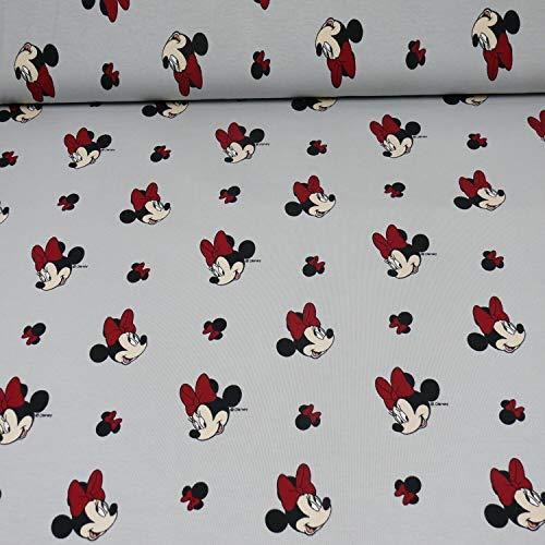Disney Jersey Minnie Maus, grau (50cm x 150cm)