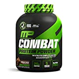 MusclePharm Combat Protein Powder, 5 Protein Blend, Chocolate Milk, 4 Pounds, 52 Servings