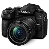 "Panasonic LUMIX G95 20.3 Megapixel Mirrorless Camera, 12-60mm F3.5-5.6 Micro Four Thirds Lens, 5-Axis Dual I.S. 2, 4K 24p 30p Video, Pre-Installed V-Log L, 3"" Flip-Out Touchscreen - DC-G95MK (Black)"