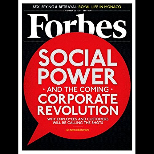 Forbes, September 12, 2011 audiobook cover art