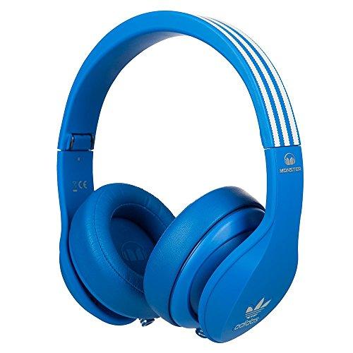 MonstMonsterer 128553 Monster Adidas Originals Over Ear Headphones, Blue
