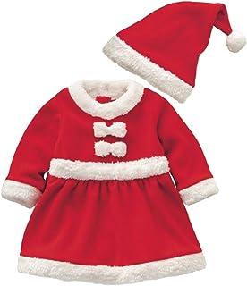 طقم أزياء للأطفال للأولاد والبنات سانتا كلوز بدلة أطفال للكريسماس هالوين