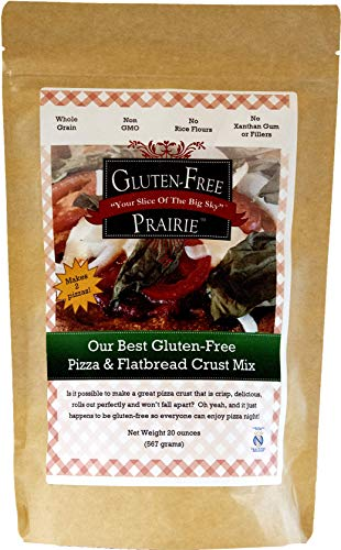 Gluten-Free Prairie Our Best Pizza & Flatbread Mix, Certified Gluten Free Purity Protocol, Non-GMO, 20 Ounces