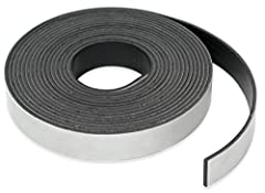 Magnet designed to hold on one side only directly to flat steel surface. Multiple Poles are evenly spread across its surface to prevent sliding. It does not hold well to other magnets. Magnet holds up to 6 pounds per linear foot on contact with flat,...