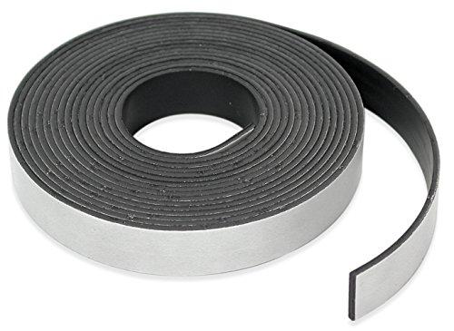 "Master Magnetics - B005HYDC68 Roll-N-Cut Flexible Magnetic Tape Refill - 1/16"" Thick x 1/2"" Wide x 15 feet. (1 roll), 07518"