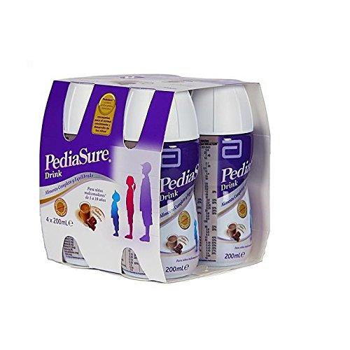 PEDIASURE DRINK 200 ML 4 BOTELLAS CHOCOLATE