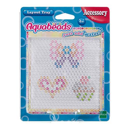 Aquabeads 79188 Bastelplatte, Kinder Bastelzubehör