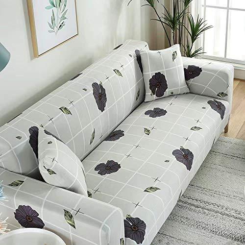 Home Wang Funda de sofá de impresión geométrica elástica para sofá funda elástica para sofá toalla antideslizante para sala de estar anti-polvo-19_3-plazas 190-230cm
